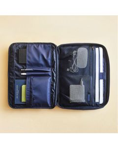 Simple nylon thick shockproof 13-inch laptop liner bag, file bag in hand