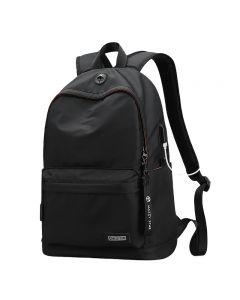 Factory price large capacity fashion casual men 15.6 inch laptop bags school backpack with USB charging port